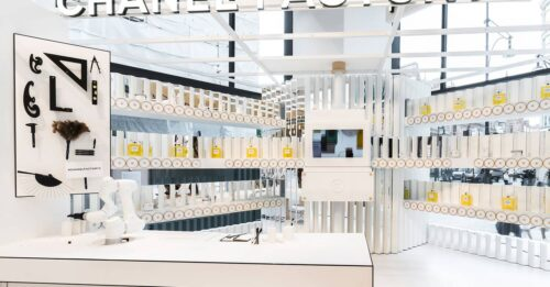 Chanel No 5 100th anniversary Factory 5 collection