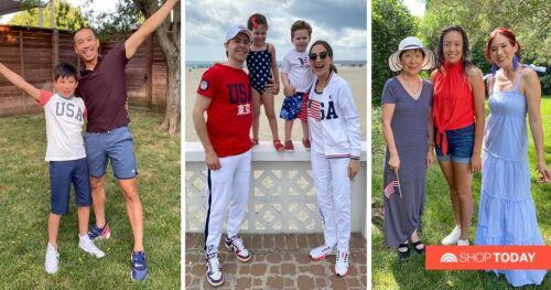 Olympic fashion for the whole family