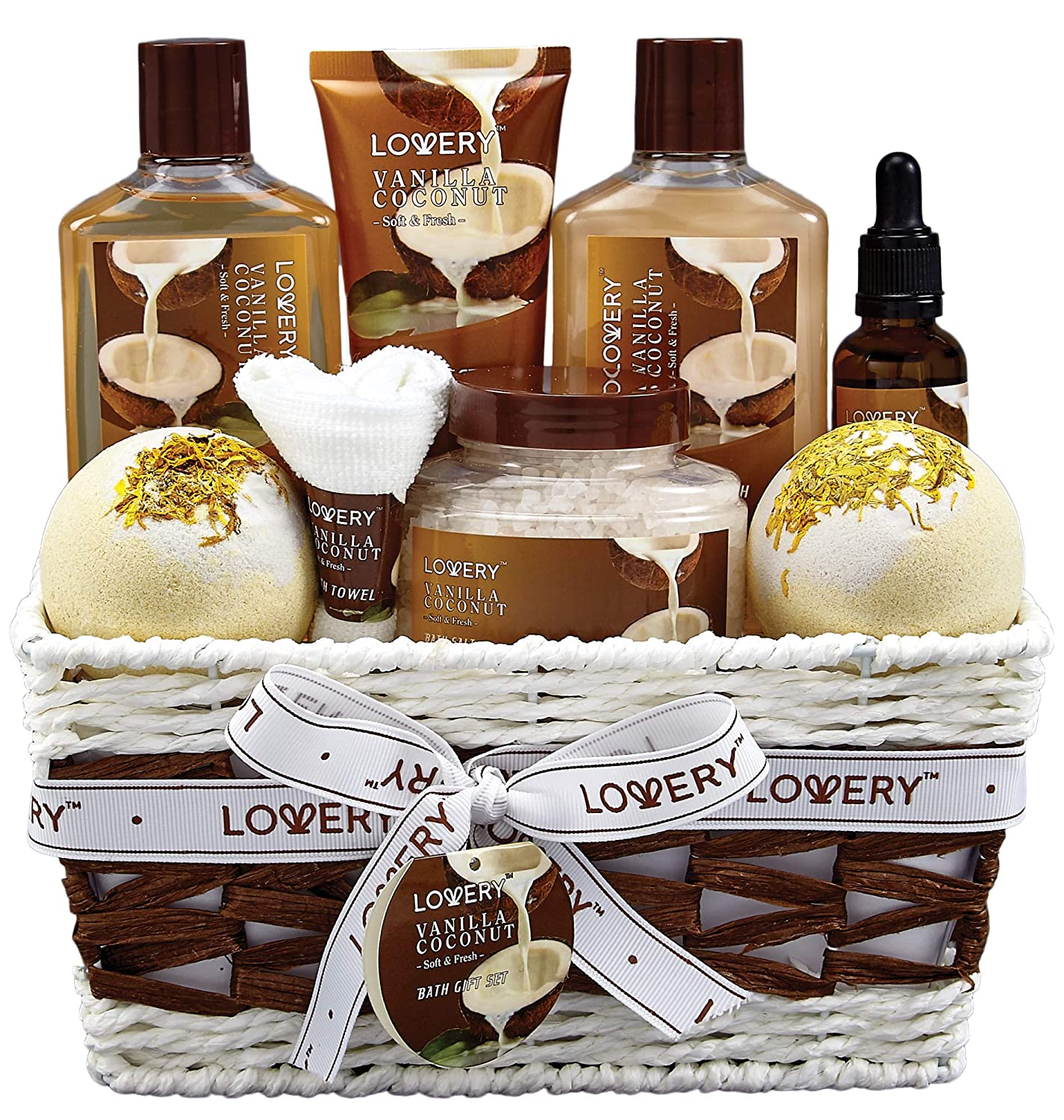 Bath and Body Gift Basket For Women