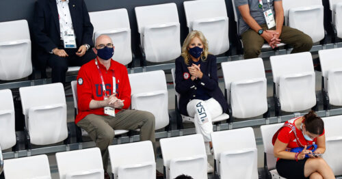 Jill Biden, Changing the Fashion Game at the Olympics