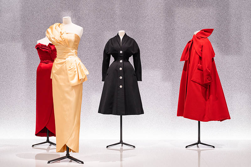 Christian Dior Designer of Dreams exhibition NYC collection dresses